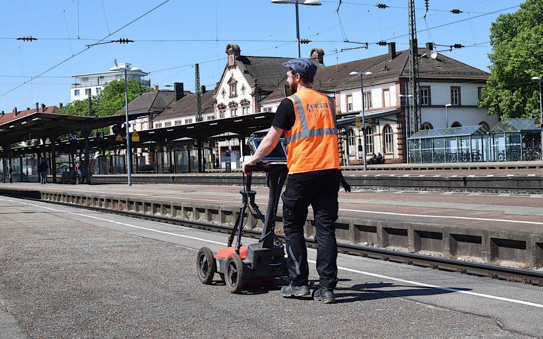 Die Deutsche Bahn saniert ihre Infrastruktur